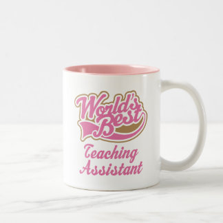 Teaching Assistant Gift Two-Tone Coffee Mug