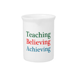Teaching Believing Achieving Pitcher