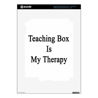 Teaching Box Is My Therapy Skin For iPad 3