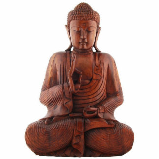 Teaching Buddha Ornament Photo Sculpture