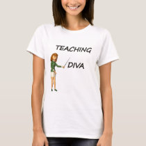 TEACHING DIVA T-Shirt