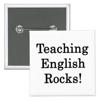 Teaching English Rocks Pins