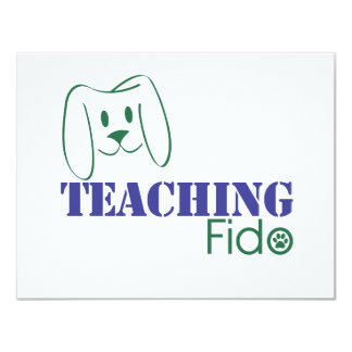 Teaching Fido Logo Wear Card