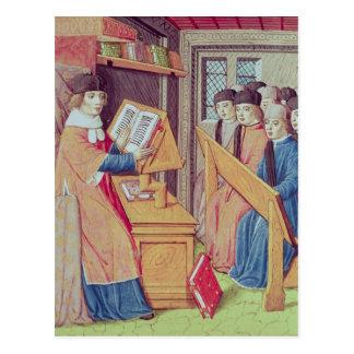Teaching from 'Les Georgics' Postcard