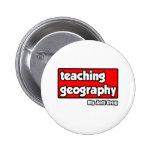 Teaching Geography...My Anti-Drug Pinback Button