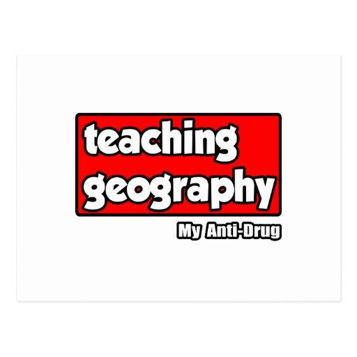 Teaching Geography...My Anti-Drug Postcard
