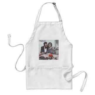 """Teaching Her """"Wireless"""" Adult Apron"""