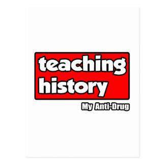 Teaching History...My Anti-Drug Postcard