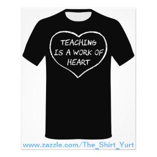 Teaching is a Work of Heart Flyer