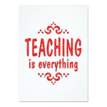 Teaching is Everything Invite