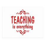 Teaching is Everything Post Card