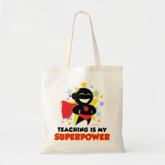 Teaching Is My Superpower Canvas Bag