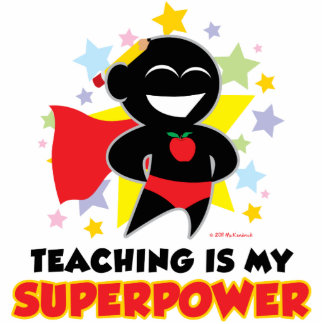 Teaching Is My Superpower Cutout