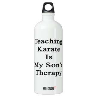 Teaching Karate Is My Son's Therapy SIGG Traveler 1.0L Water Bottle