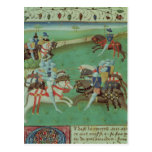 Teaching Knights to Joust Postcards