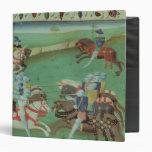 Teaching Knights to Joust Vinyl Binder