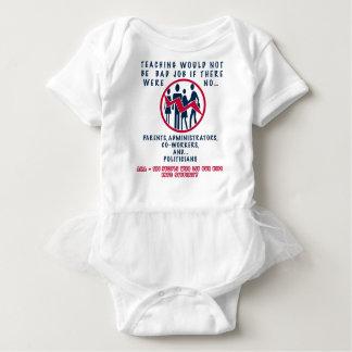 TEACHING NOT A BAD JOB IF basic Baby Bodysuit