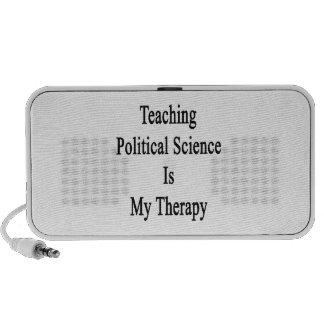 Teaching Political Science Is My Therapy Portable Speakers