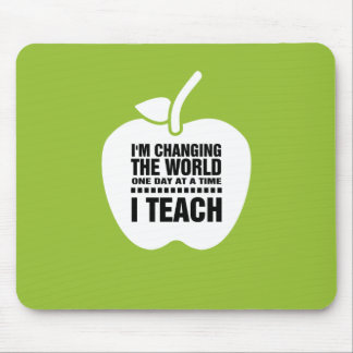 Teaching Quote   Apple design Gift Mousepads