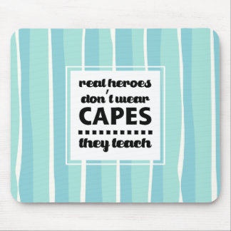 Teaching Quote   Typography design Gift Mousepads