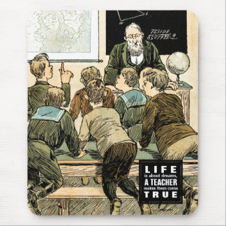 Teaching Quote   Vintage Art Gift Mousepads