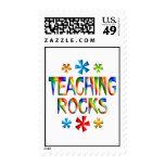 TEACHING ROCKS POSTAGE STAMP