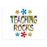 TEACHING ROCKS POSTCARD