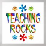 TEACHING ROCKS PRINT