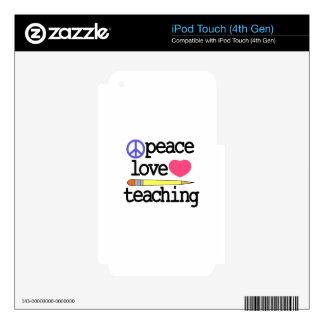 Teaching Skin For iPod Touch 4G
