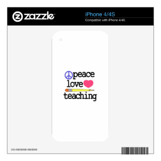 Teaching Skin For The iPhone 4