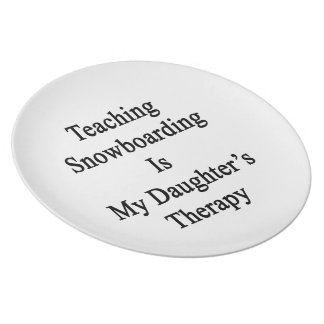 Teaching Snowboarding Is My Daughter's Therapy Plate