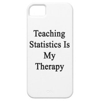 Teaching Statistics Is My Therapy iPhone 5 Covers