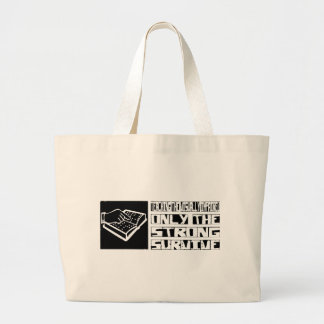 Teaching the Visually Impaired Survive Jumbo Tote Bag