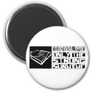 Teaching the Visually Impaired Survive 2 Inch Round Magnet