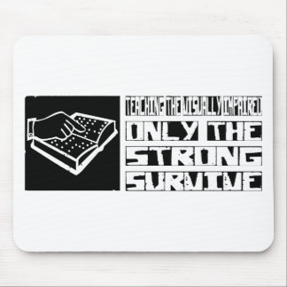 Teaching the Visually Impaired Survive Mouse Mat
