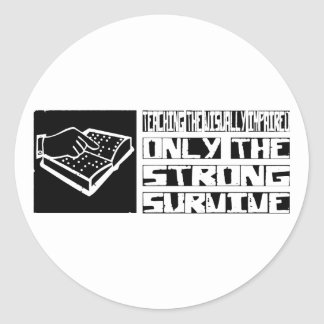 Teaching the Visually Impaired Survive Sticker