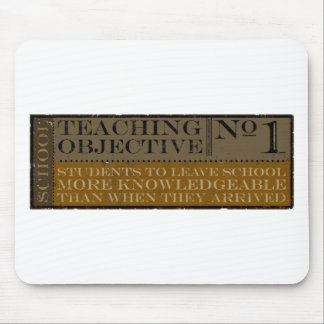 teaching weathered mouse pad