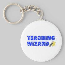 Teaching Wizard Keychain