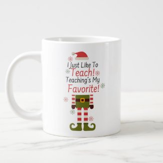 Teaching's My Favorite Giant Coffee Mug