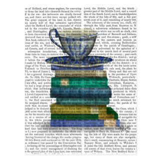 Teacup and Books Postcard