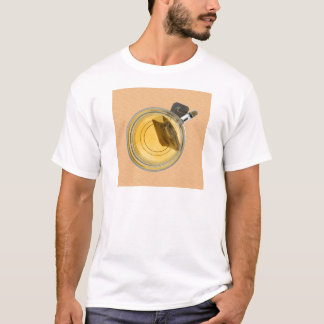 Teacup and Steeping Tea Bag T-Shirt