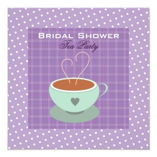 Teacup Bridal Shower Tea Party Card