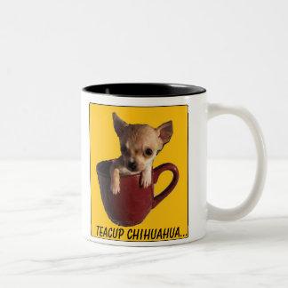 Teacup Chihuahua ironic mug