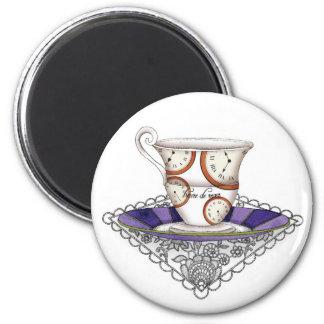 Teacup Clocks Magnet