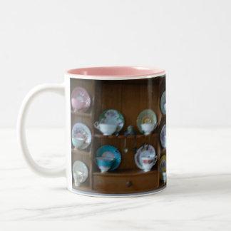 teacup collection mug