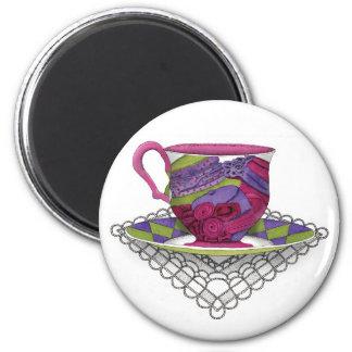 Teacup Hats Magnet
