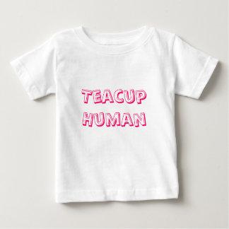 Teacup Human Infant T-shirt