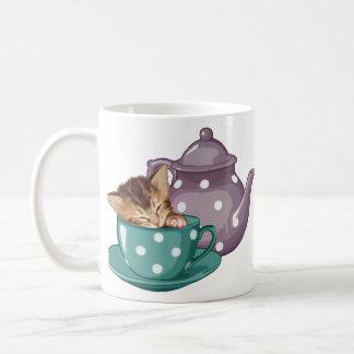 Teacup Kitten Coffee Mug