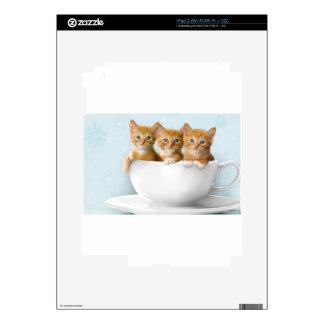 Teacup Kittens iPad 2 Decal