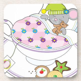 Teacup Mouse Beverage Coaster